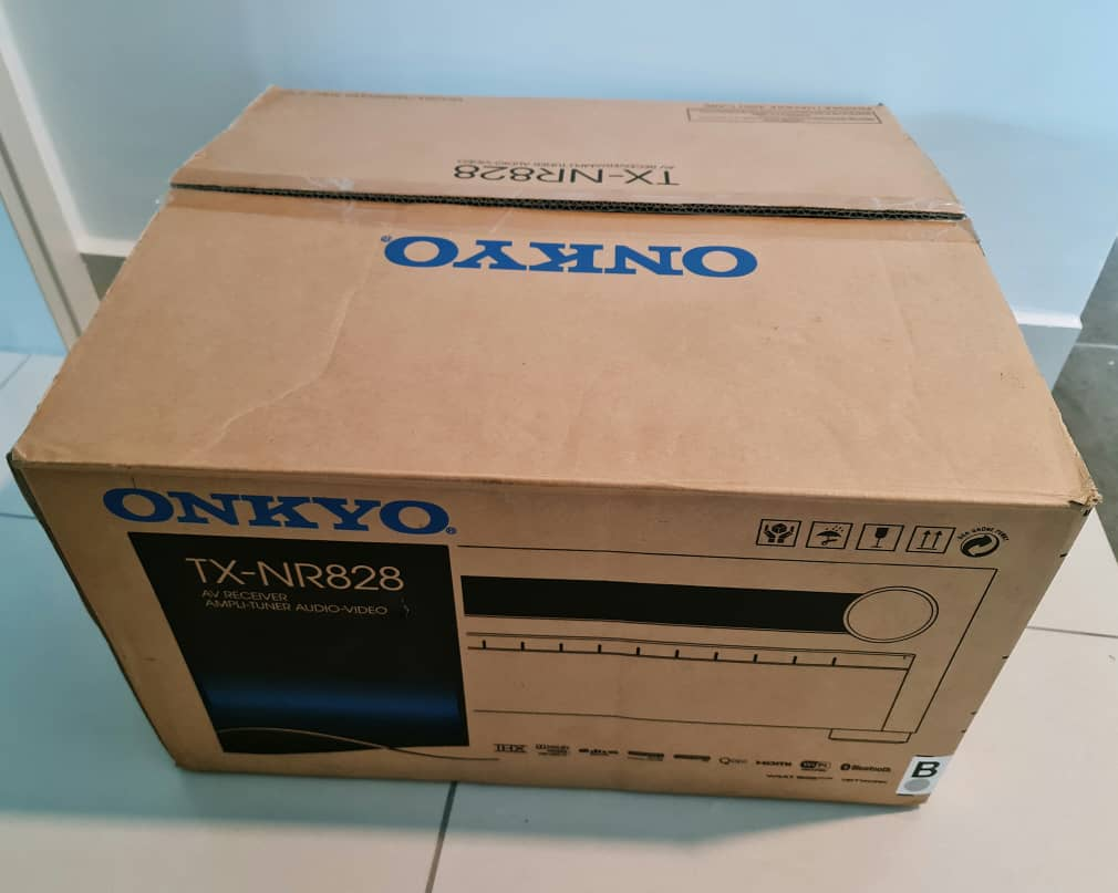 Holfi Integrated,Onkyo TX-NR828 7.2-channel, Mission MS-800 Subwoofer   Onkyo810