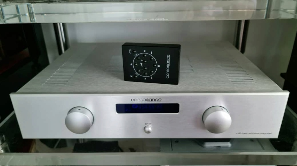 SOLD Opera Consonance A100 Linear Solid-state Integrated Amplifier  Operac11