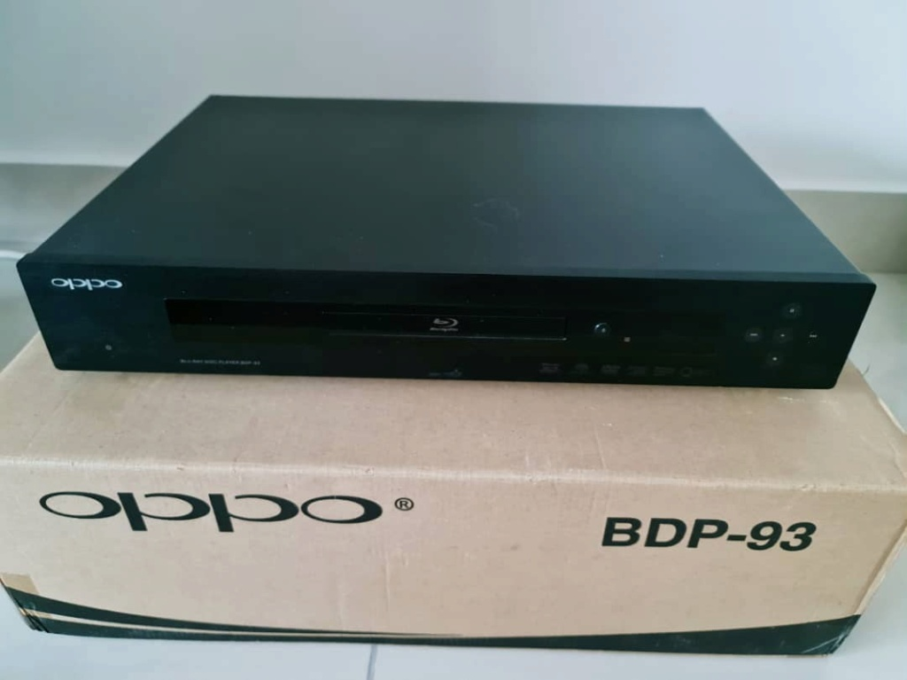 Oppo BDP-93 + Nuforce Extreme Edition Upgrade + Jail Break Oppo9310
