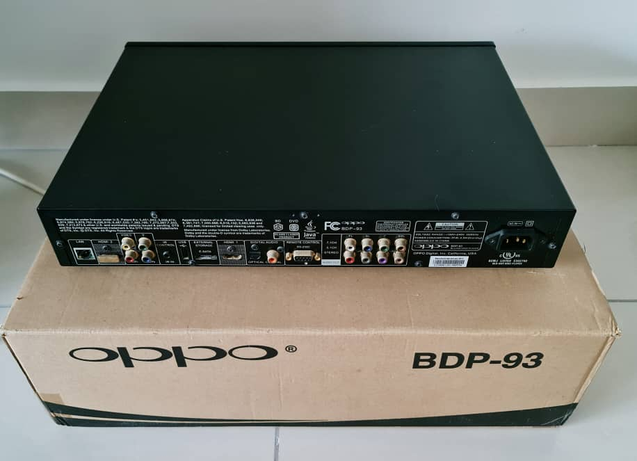 Oppo BDP-93 + Nuforce Extreme Edition Upgrade + Jail Break Oppo9312