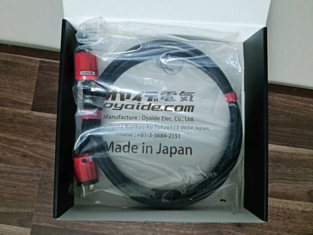 Various Cables: Siltech, NBS, Cardas, Stage III Concepts, Shunyata, etc Oyaide12