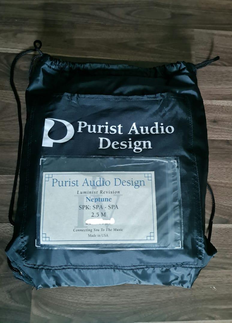 Purist Audio Design Neptune Luminist Revision Speaker Cable - 2.5m Padnep10