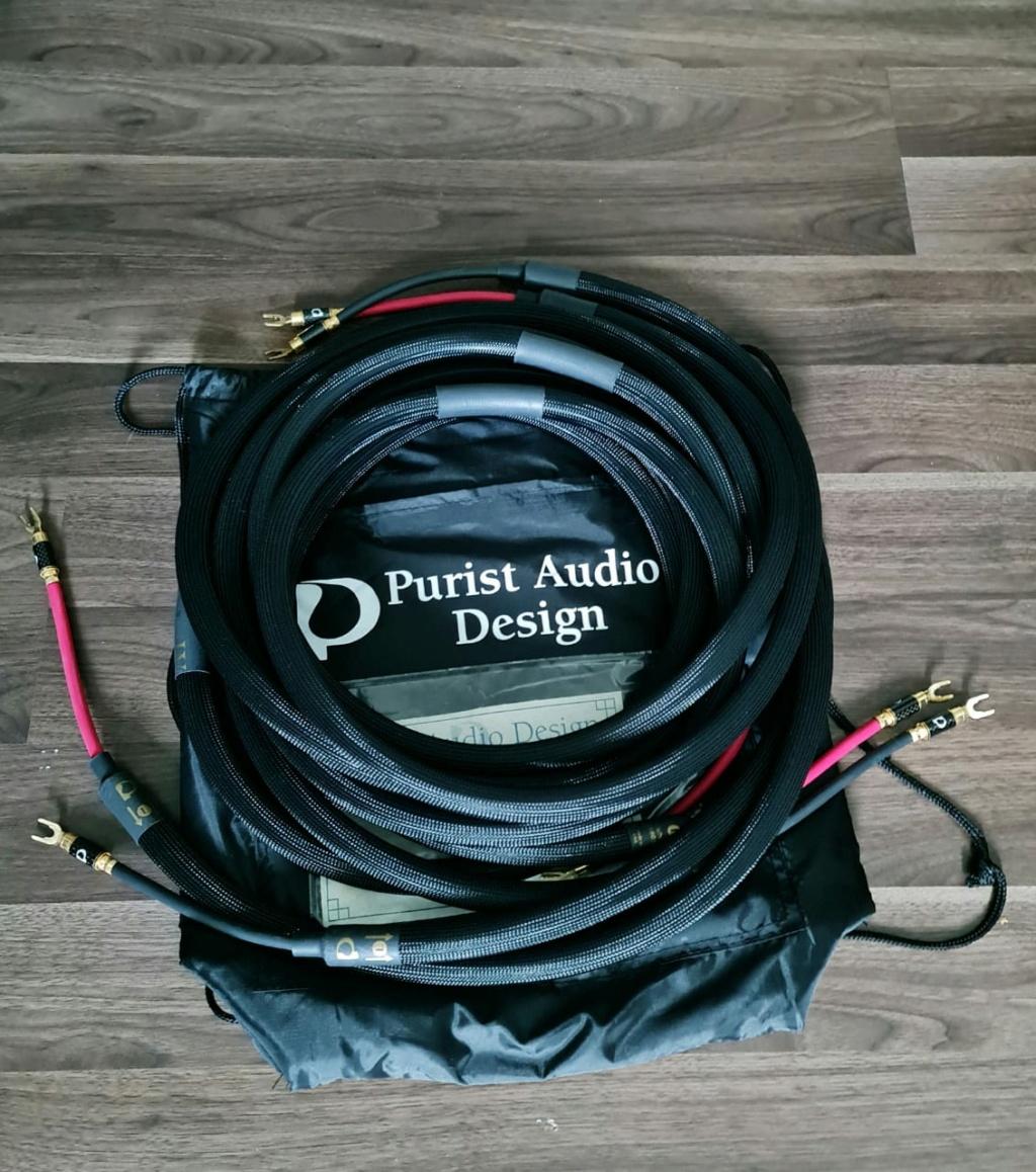 Purist Audio Design Neptune Luminist Revision Speaker Cable - 2.5m Padnep12