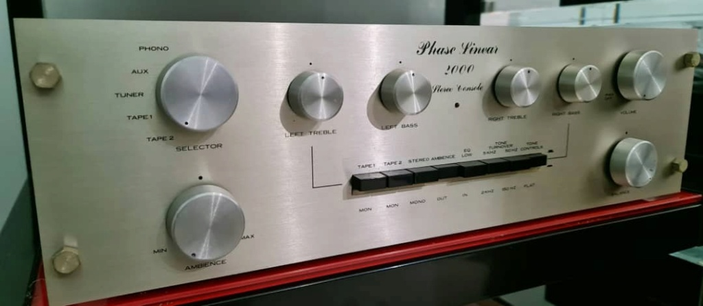 SOLD hase Linear 2000 Preamplifier Phasel11