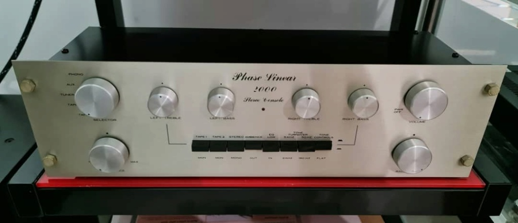 SOLD hase Linear 2000 Preamplifier Phasel12