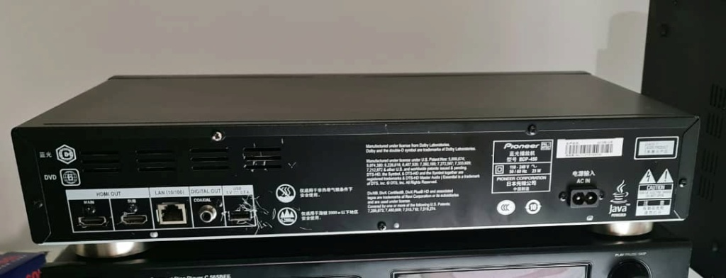 NAD CD Player C565 BEE, Pioneer BDP-450 Blu-ray/SACD player,Denon PMA-360 Integrated Amplifier, etc   Pionee17