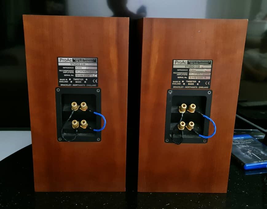 ProAc Studio 110 Bookshelf Speakers Proac310