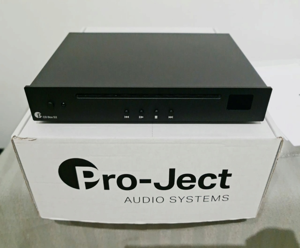 Pro-Ject CD Box S2 Compact single-disc CD player  Projec13