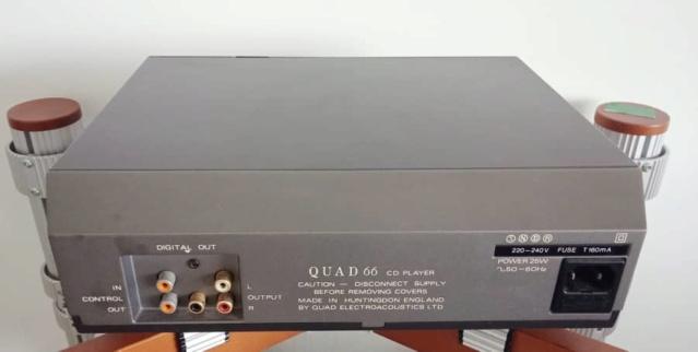 Quad 66 Compact Disc Player Q214