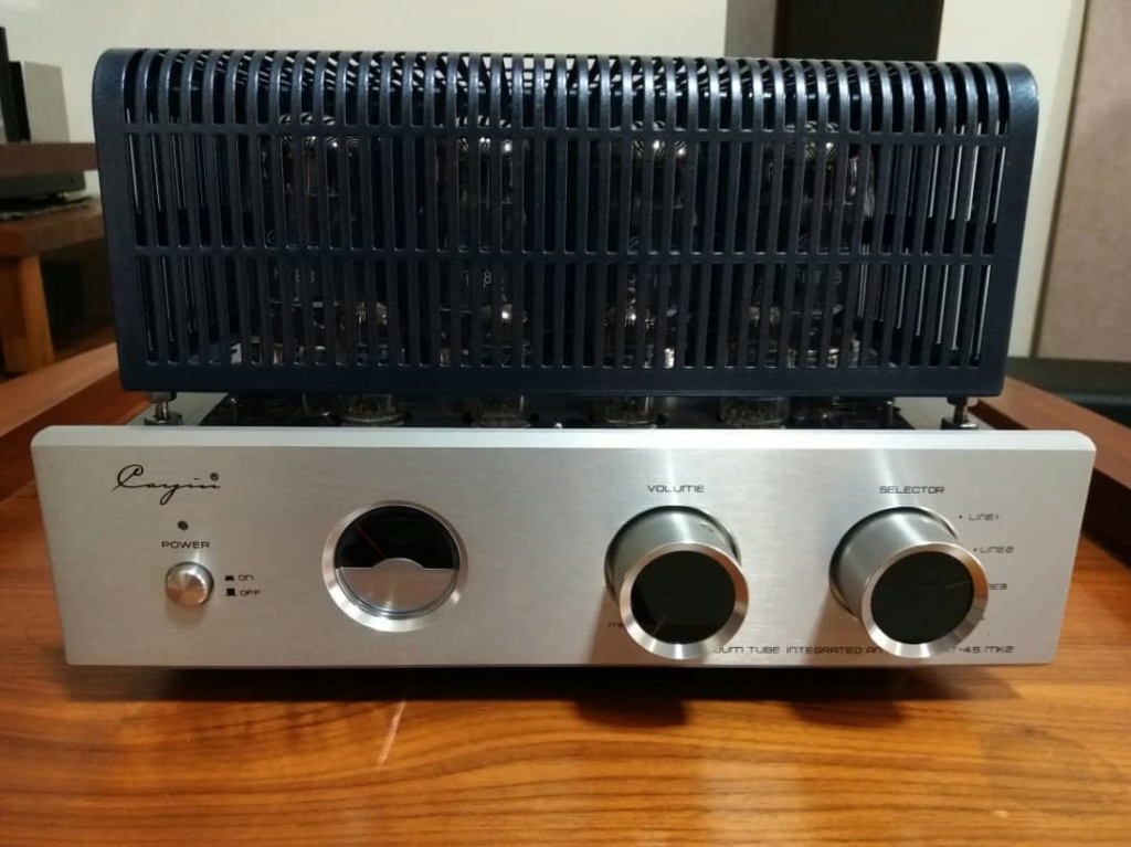 Cayin MT45-mk2 KT88 Tube Integrated Amplifier UL/Triode Q312