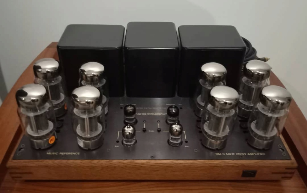 RARE Music Reference RM 9 MKII 250W Power Amplifier by Roger Modjeski R115