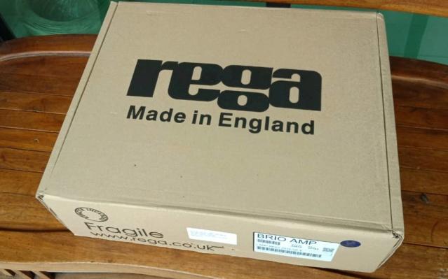 Rega Brio Integrated Amplifier Made In UK R213