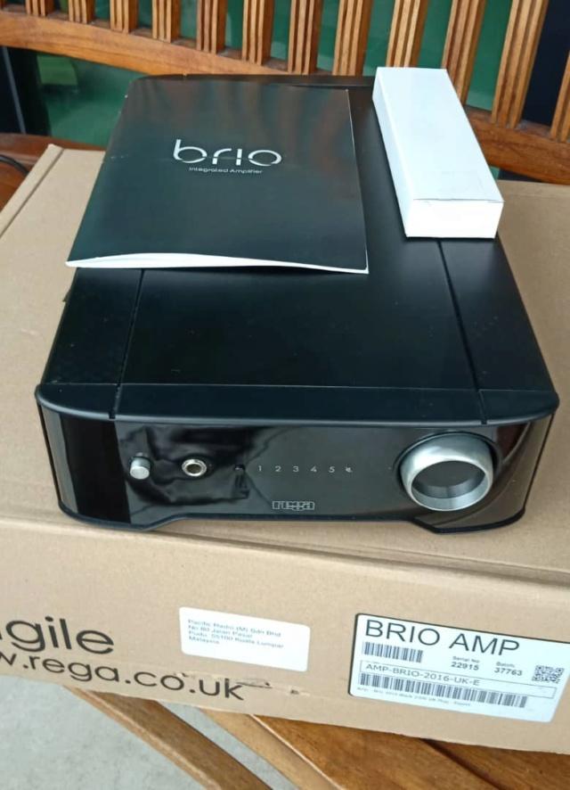 Rega Brio Integrated Amplifier Made In UK R411