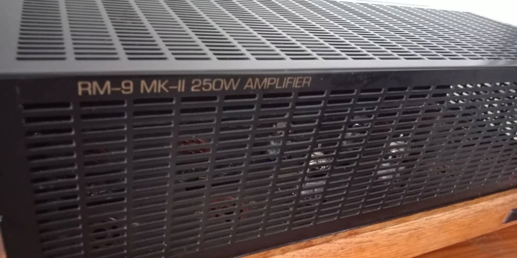 RARE Music Reference RM 9 MKII 250W Power Amplifier by Roger Modjeski R610