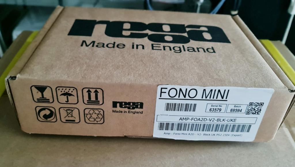 Rega Fono Mini A2D MK2 Phono Preamp Regafo12