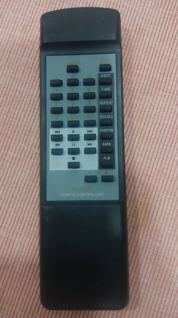 wanting to buy remote control for marantz cd 6000 ose (found) Remote10