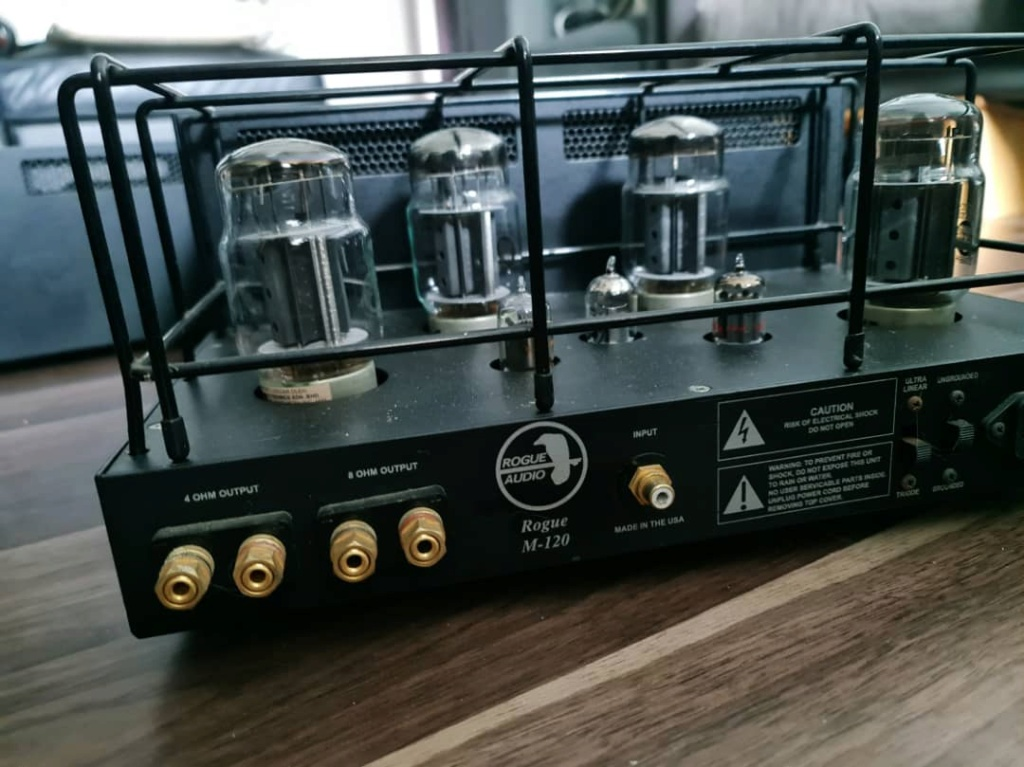Rogue Audio Magnum M-120 Monoblock Power Amplifier Rogue310