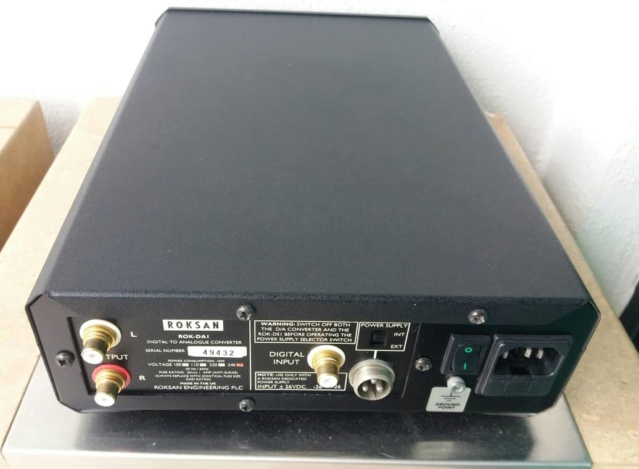 Roksan ROK-DA1 DAC Digital to Analogue Converte Rok310