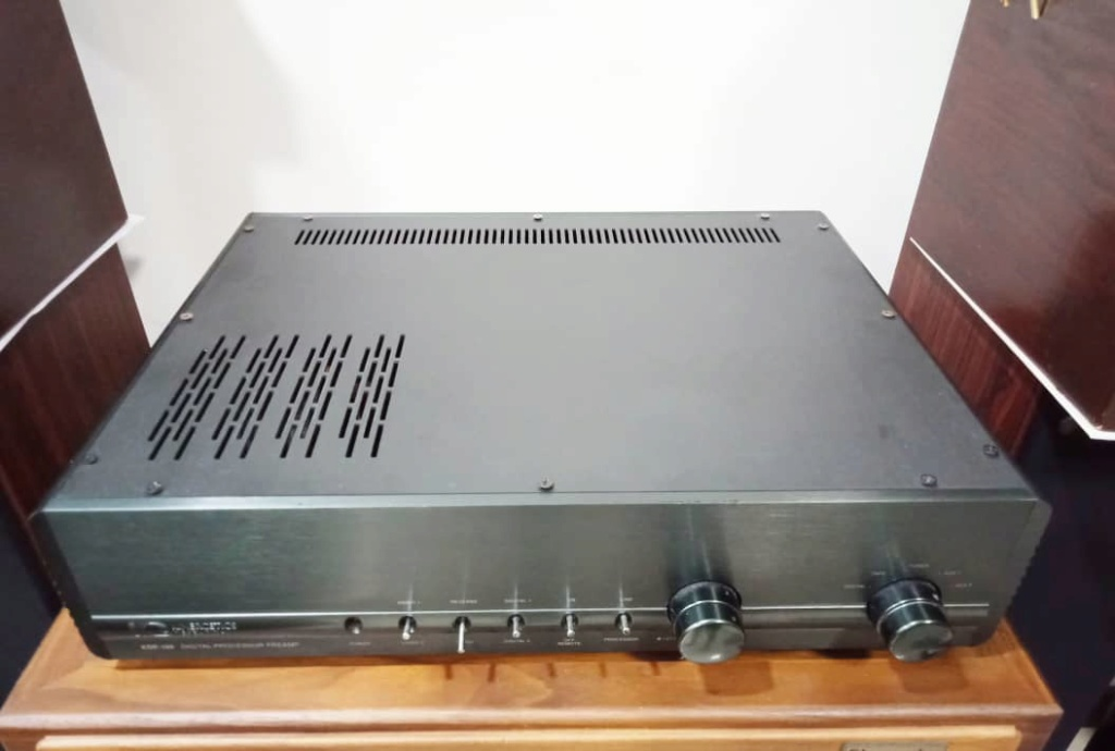 Kinergetics Research KDP-100 Platinum Series Preamplifier w/ Built in DAC S113