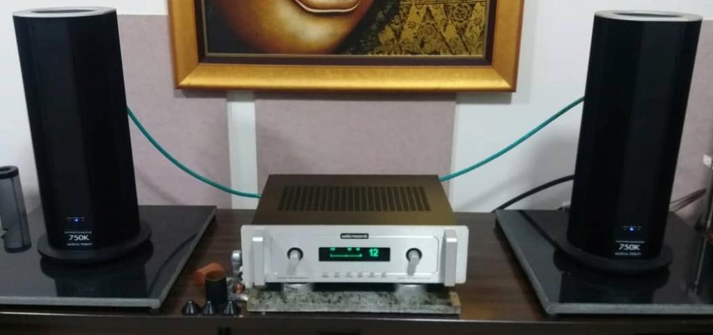 Musical Fidelity 750K Supercharger Monoblock Power Amplifier  S114