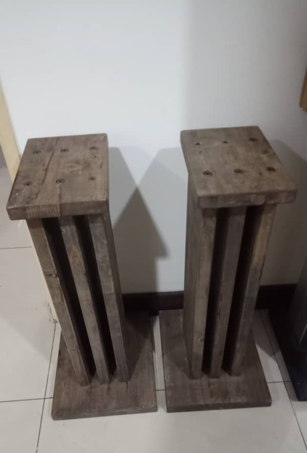 Solid Wood Speaker Stands S118