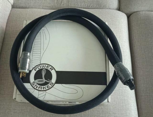 Shunyata Research Black Mamba CX Power Cable - 6 feet S122