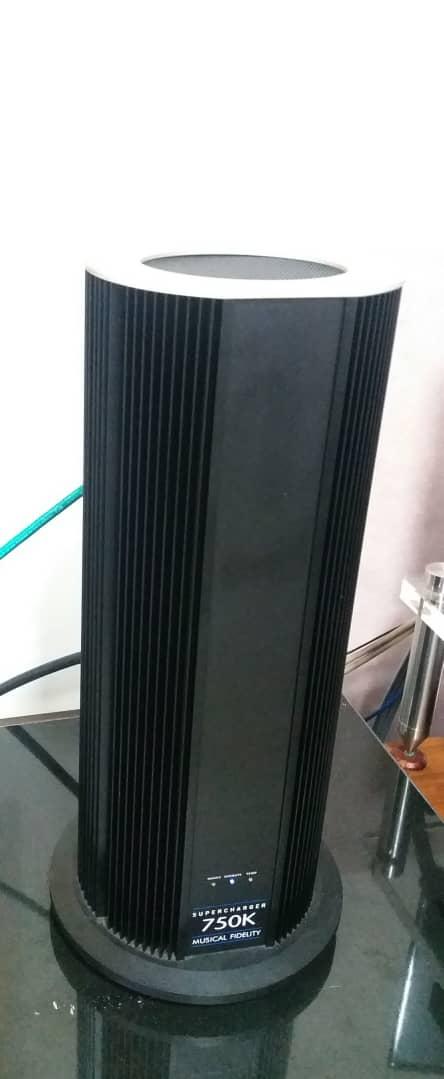 Musical Fidelity 750K Supercharger Monoblock Power Amplifier  S214