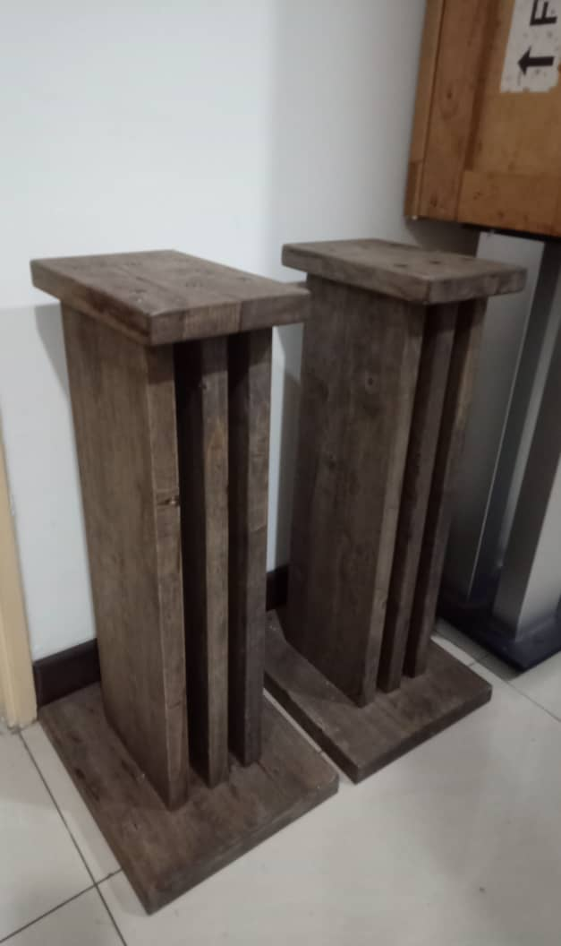 Solid Wood Speaker Stands S318