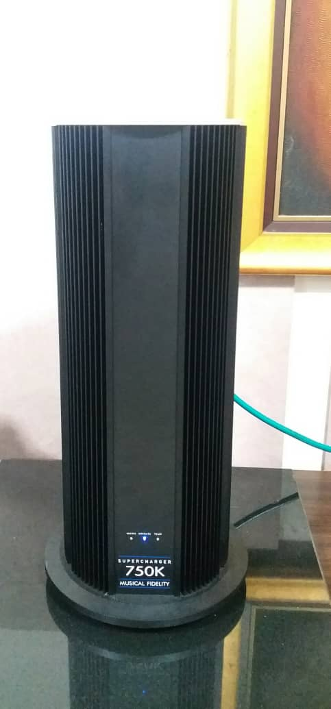 Musical Fidelity 750K Supercharger Monoblock Power Amplifier  S412