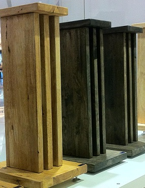 Solid Wood Speaker Stands S416