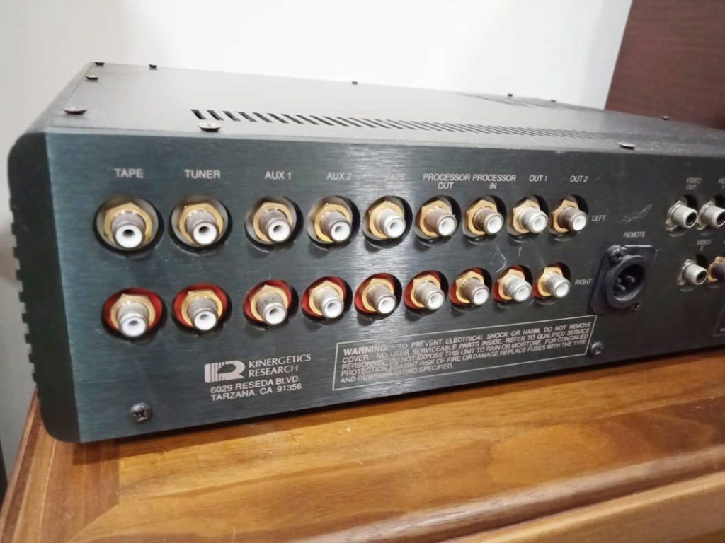 Kinergetics Research KDP-100 Platinum Series Preamplifier w/ Built in DAC S611
