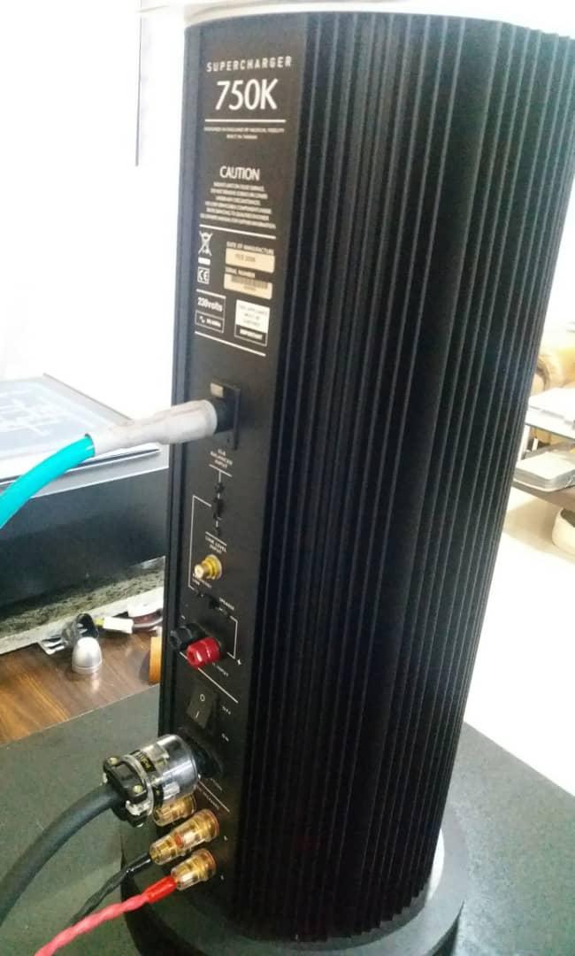 Musical Fidelity 750K Supercharger Monoblock Power Amplifier  S612