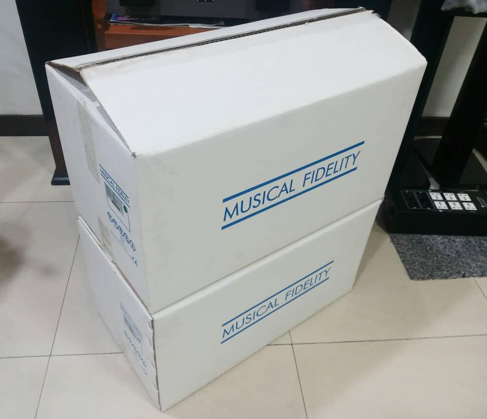 Musical Fidelity 750K Supercharger Monoblock Power Amplifier  S711