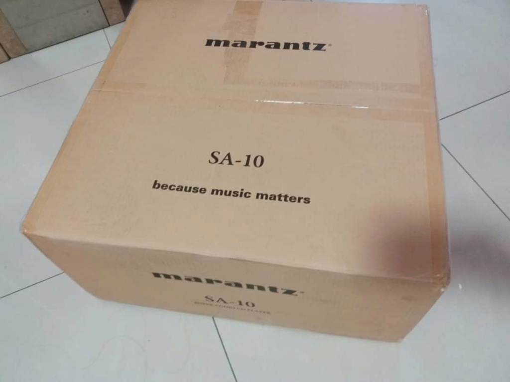 Marantz SA-10 Super Audio CD player with USB DAC and digital inputs Sa1010