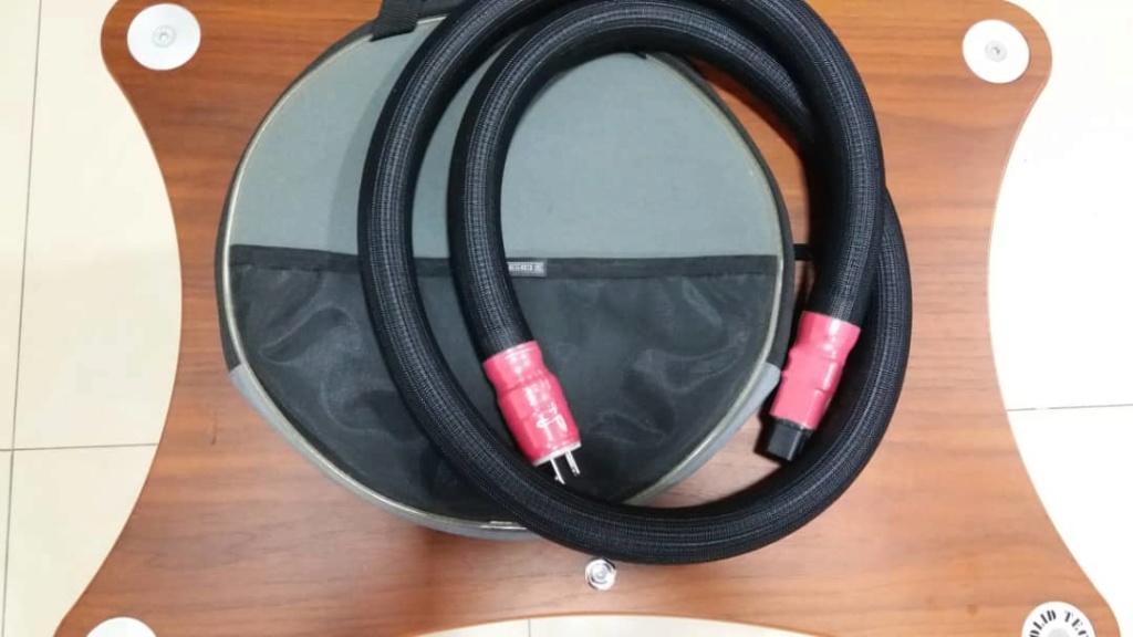 Shunyata Research Anaconda Helix Alpha 20amp IEC Power Cord - 6ft and Shunyata Research Adapter C20-C15 Shun110