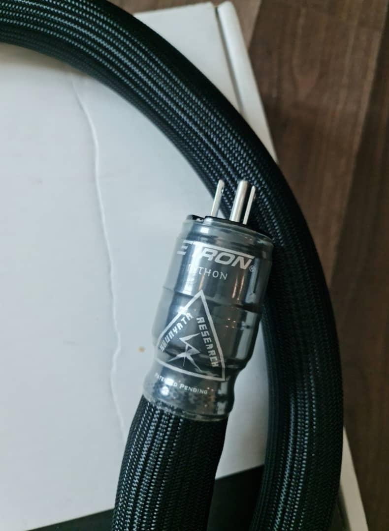Shunyata Research Python Zi-Tron Power Cable 20A - 1.73m Shunya15