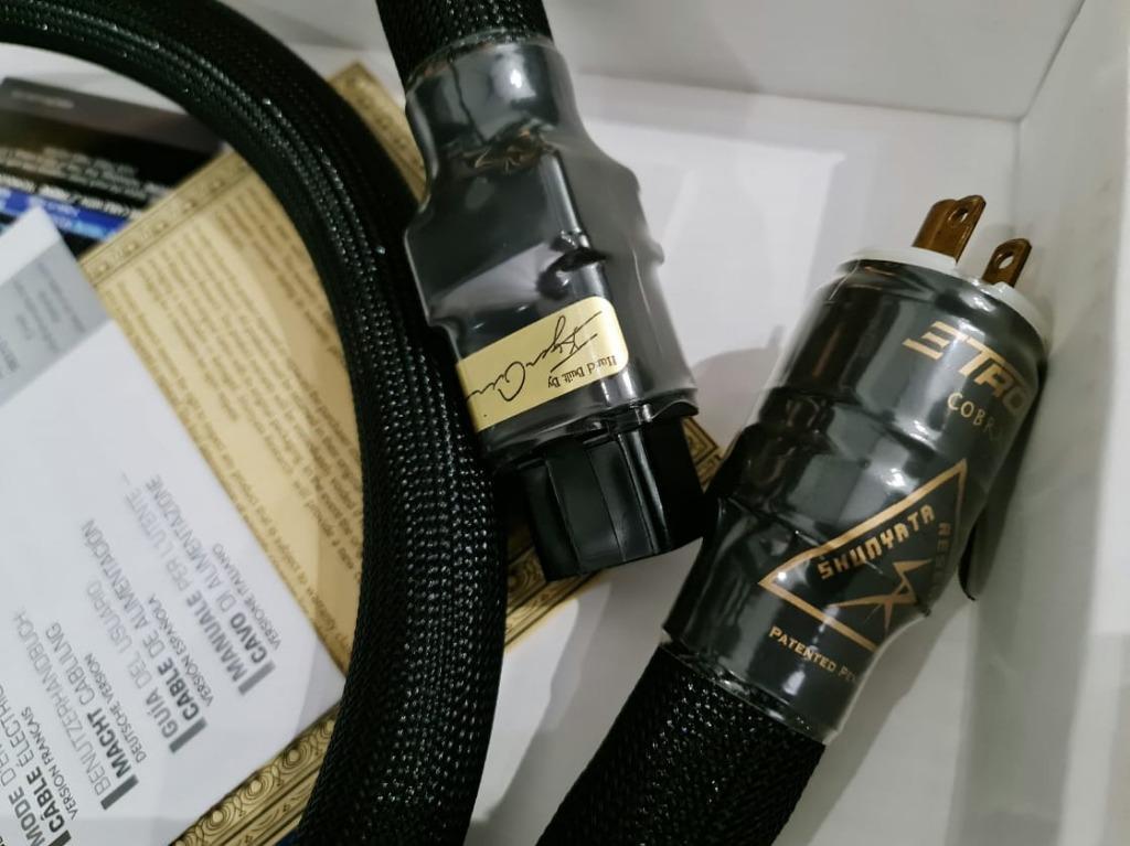 Shunyata Research Etron Cobra Power Cable - 20A Shunya39