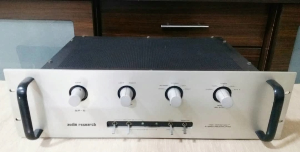 Audio Research SP6A Preamplifier with Phono Sp110
