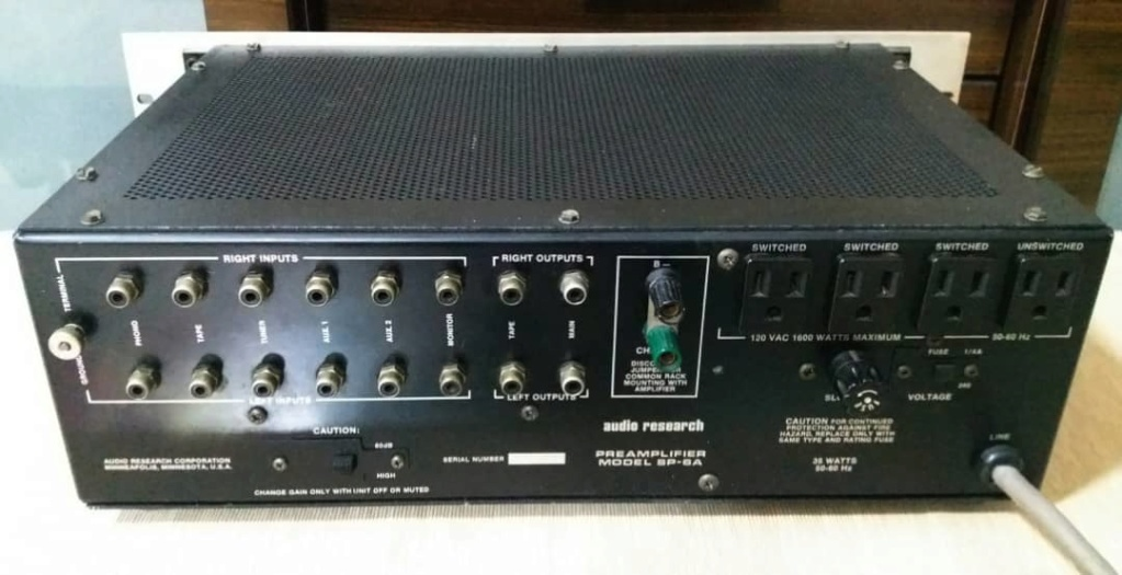 Audio Research SP6A Preamplifier with Phono Sp310