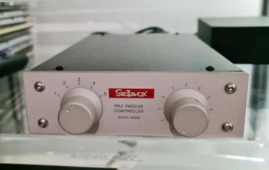 Goldmund Stellavox PR2 Passive Controller Passive Pre-Amplifier Stella12
