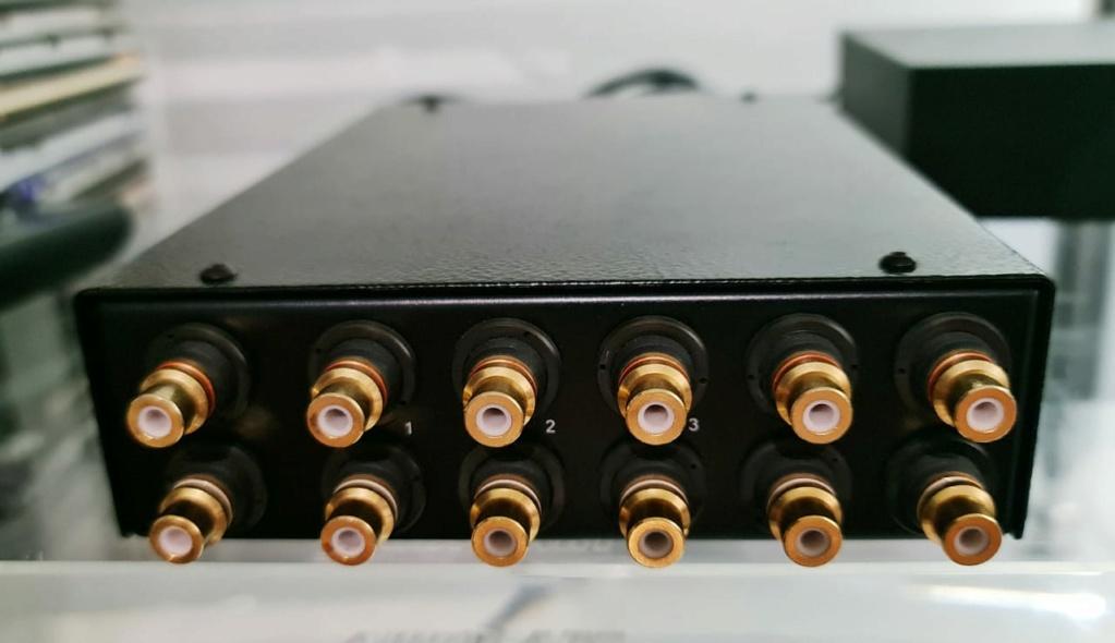 Goldmund Stellavox PR2 Passive Controller Passive Pre-Amplifier Stella13