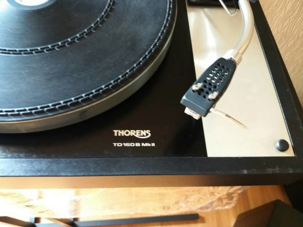 Original Thorens TD160B Mk2 with SME 3009/S2 Tonearm T311