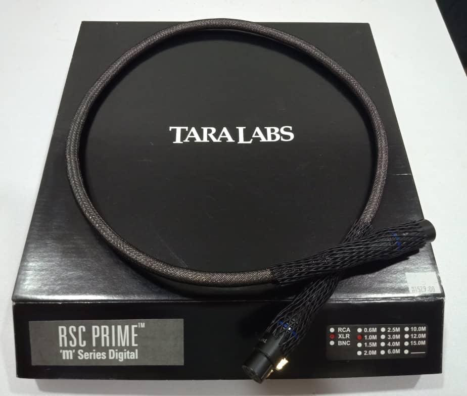 Tara Labs RSC Prime M Digital XLR Interconnect - 1m Tarala10