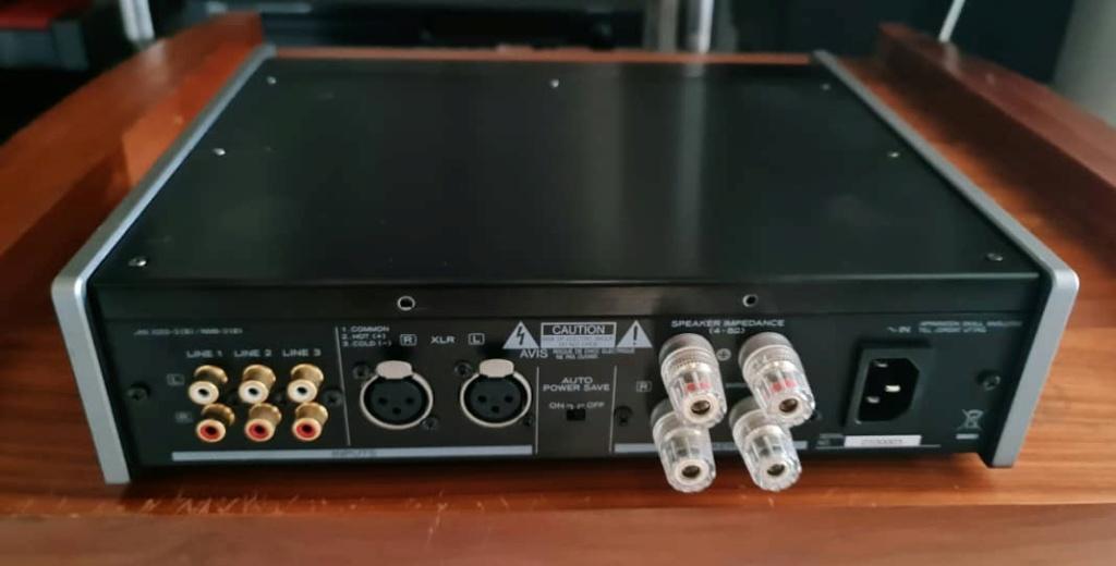 Teac AX-501 Integrated Amplifier with Balanced Analogue Inputs (Black) Teac5011