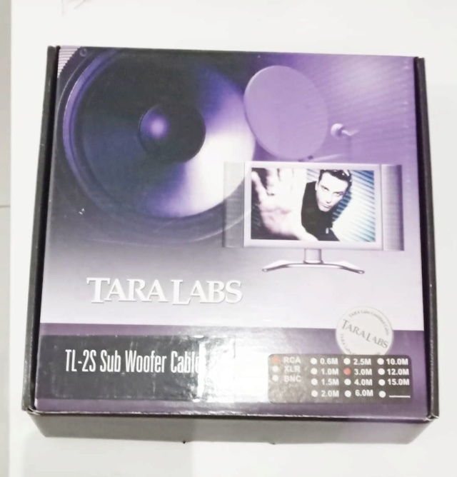 Tara Labs TL-2S Subwoofer Cables Tl110