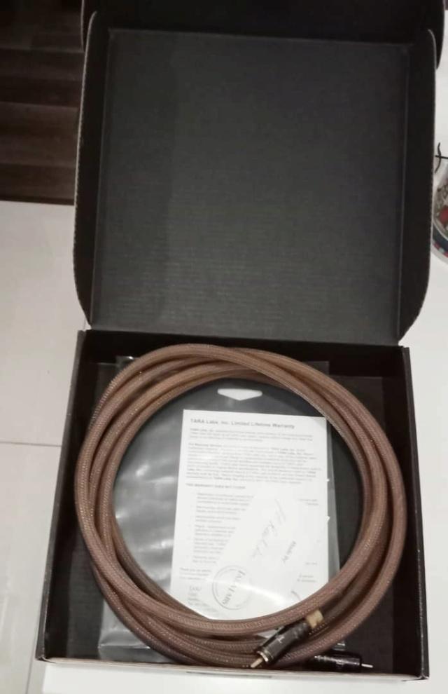 Tara Labs TL-2S Subwoofer Cables Tl210