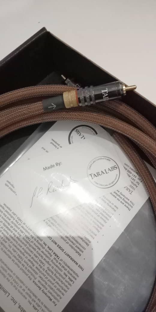 Tara Labs TL-2S Subwoofer Cables Tl310