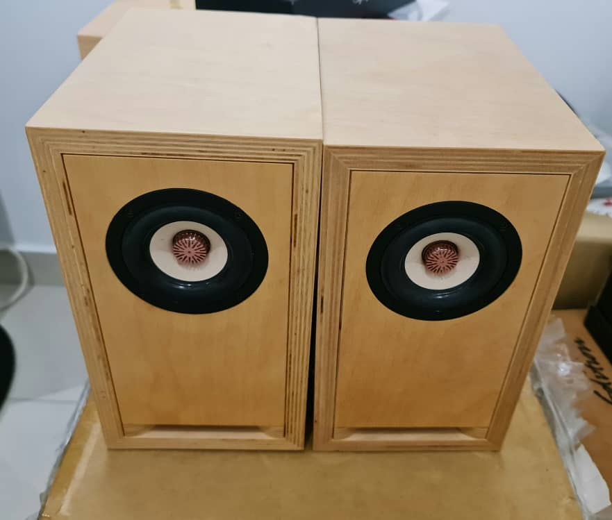 "SOLD Toku & Gawa Audio 3"" Full-Range Speakers Toku310"