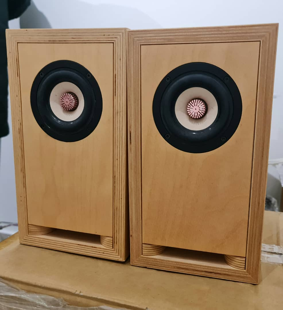 "SOLD Toku & Gawa Audio 3"" Full-Range Speakers Toku410"