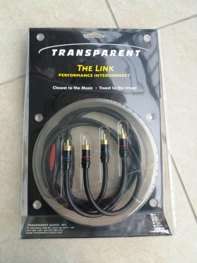 Transparent The Link RCA Interconnect - 1m Transp10